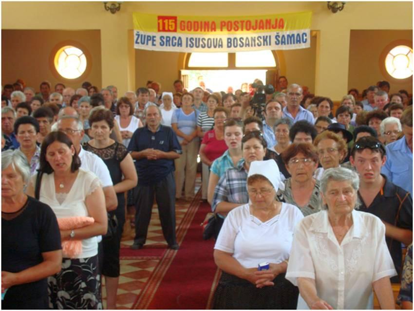 Proslavljen patron u Bosanskom �amcu - Posavina.org